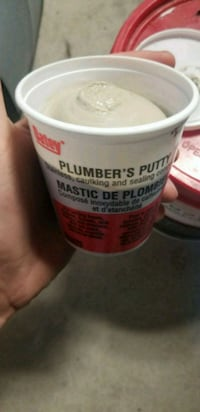 Plumbers putty! stain resistance! Waterproofer! White Rock