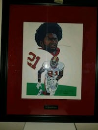 NFL player photo with black wooden frame Upper Marlboro, 20774