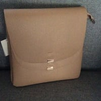 Tan  Crossbody with Multi-Compartments