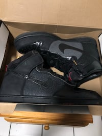 pair of black Air Jordan 1's in box Los Angeles, 90065