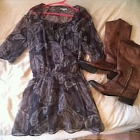 NEW AERIE PAISLEY DRESS Toronto, M5B 2H5
