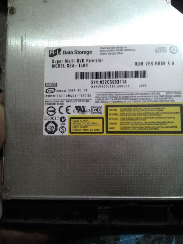 laptop CD sürücü