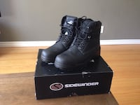 NEW Men's Sidewinder Steel Toe Work Boots (Size 10) Guelph, N1H 3M7