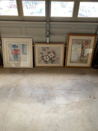 Large framed pictures  Perry Hall, 21128