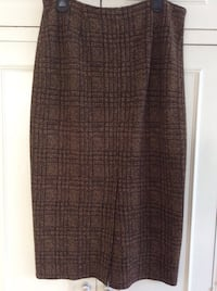 Long Brown check skirt Harrow, HA3