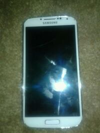 white Samsung Galaxy S4 android smartphone Peoria