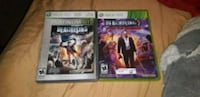 four assorted Xbox 360 game cases Waterloo, N2J 2A2