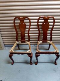2 Real Wood chair frames