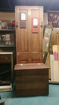 brown wooden cabinet with mirror Omaha, 68114