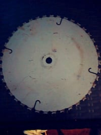 12 inch saw blade for crafts or what not $10 Spokane, 99207