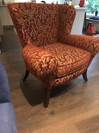 Accent chair. Toronto, M4T 2K3