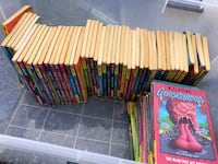Goosebumps books by R.L. stine - the complete collection
