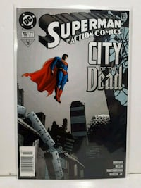Superman in Action Comics 755 Brampton, L7A 2R8
