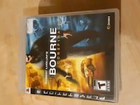 PS3 Bourne conspiracy game Burlington, L7M 4T2