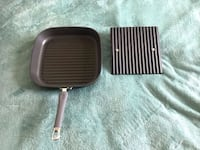Excellent Condition Pampered Chef Grill Pan and Press Ankeny, 50023