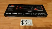 Cyberpower Multimedia Gaming Keyboard Mississauga, L5M 4S9
