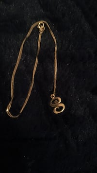 10k Gold neckless and pendant