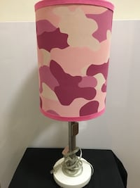 pink and white table lamp Cary, 27607