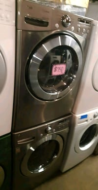 LG front load washer and dryer set working perfect 46 mi