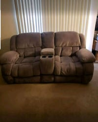 Reclining love seat sofa  Frederick