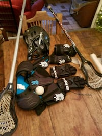 Lacrosse set- ready to go! 802 mi