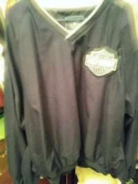 2 pull overs with Harley Davidson Patches Anderson, 46016