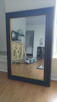 Bevelled framed mirror Ajax, L1S 6Y5