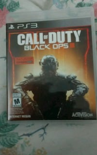Call of Duty Black Ops 3 PS3 game& case Ottawa, K2H 8G3