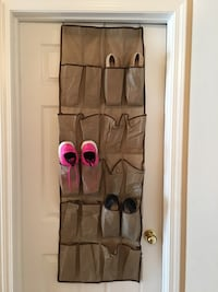 brown hanging shoes organizer Thunder Bay, P7G 1Z4