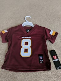 red and white NFL jersey Frederick, 21702