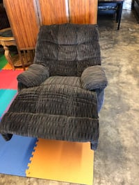 black and gray fabric sofa chair Tampa, 33604