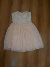 Champagne peach bubbly prom/winter formal dress Westminster, 92683