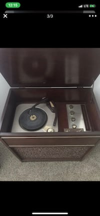 1956-1958 vintage webcore record player