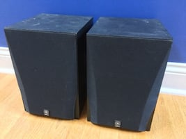 Yamaha NS-A528 Home Theater Front Bookshelf Surround Sound Two-Way Speakers