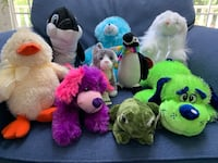 Stuffed Furry Friends (All with Tags) Sterling, 01564