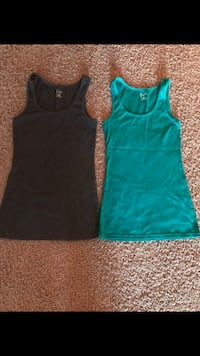 010b7cab64aa1 Women shirts size S M one time used like new very condition for both  7