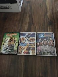 four assorted Xbox 360 game cases Calgary, T3L 3B8