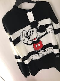 black and white Mickey Mouse print shirt Norfolk, 23504