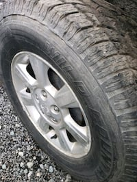 wheels and tires for ford Escape or mazda truck.  Coquitlam, V3E 0C8