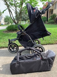 Phil & Ted Stroller with Newborn Cocoon & Travel Bag