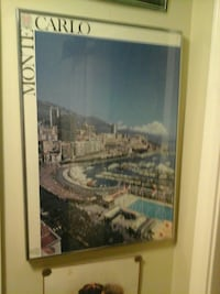 MOnte carlo framed wall decor North Saanich, V8L 3Z5