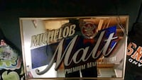 Michelob Malt framed sign. Edmonton, T5H 3E1