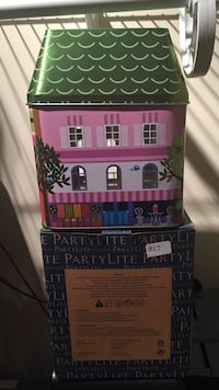 Partylite spring tin candle holder Brampton, L6W 1C1