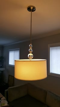 Laurel Hill 3-Light Brushed Nickel Pendant with Opal Glass Shades and Glass Ball Accents Washington, 20012