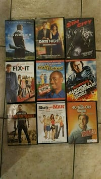 DVD $4 each 36 for all Brantford, N3S 4T6
