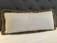 AVAILABLE Lumbar down filled lumbar pillow.   Homewood, 35209
