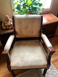 Antique cream chair Portland, 97206