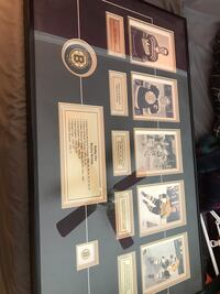 Bobby Orr shadow box with auto puck Billerica, 01821