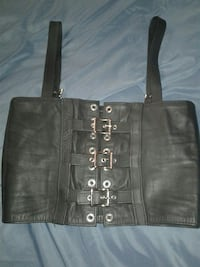Stormy Leather- LEATHER CORSET