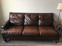 Leather couch Alexandria, 22314